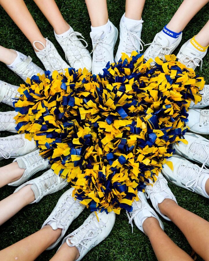 Are cheerleading shoes good for running?